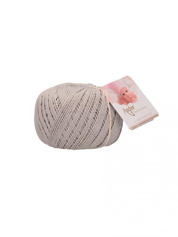 Baby pure cotton - 398 Grigio perla