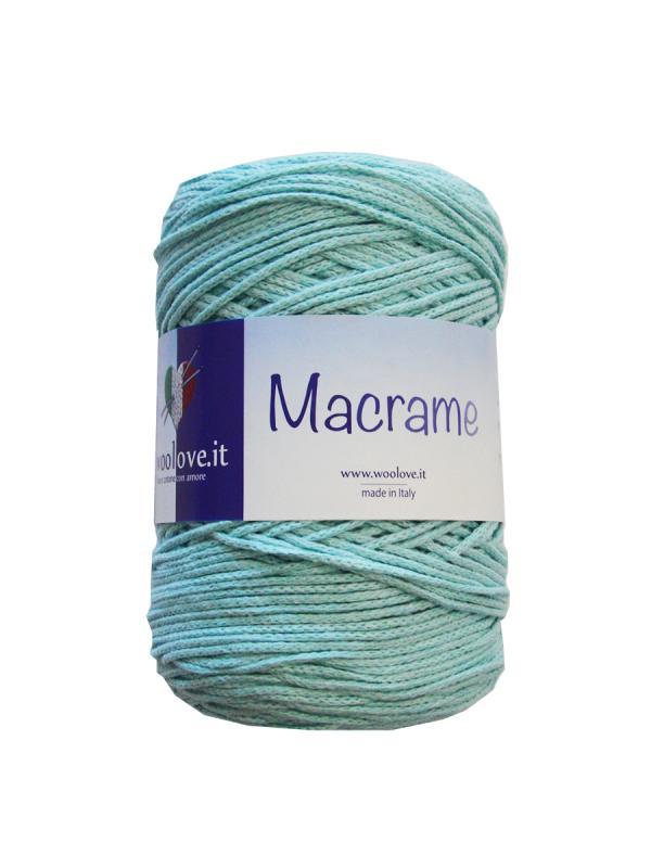 Macrame - 13 Verde acqua