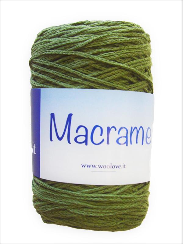 Macrame - 16 Verde militare