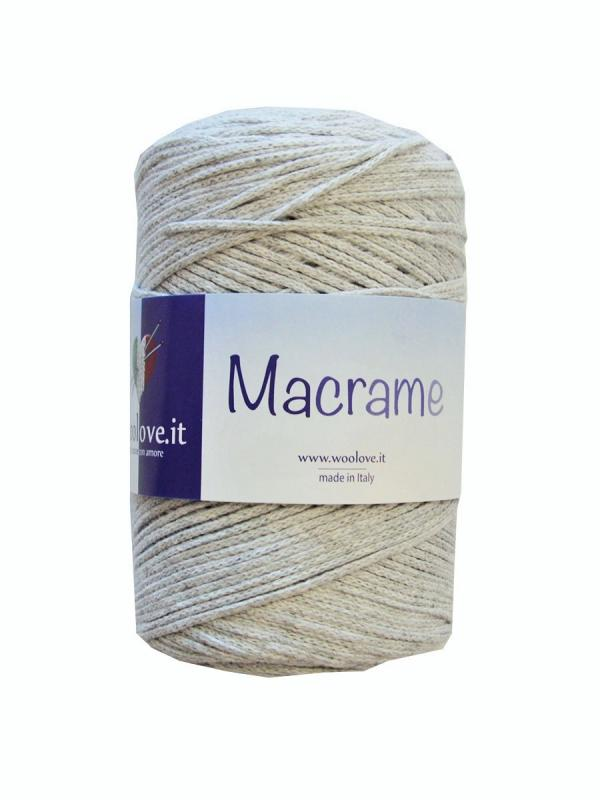 Macrame - 3 Grigio chiaro