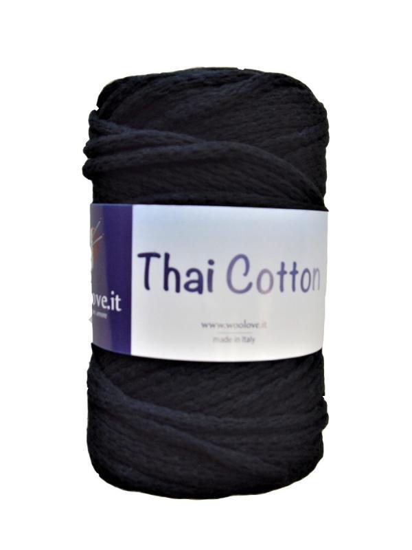 Thai cotone - 2 Nero