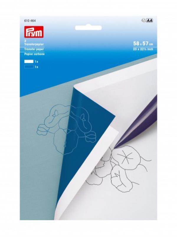 Carta ricalco - WHITE/BLUE Bianco/blu